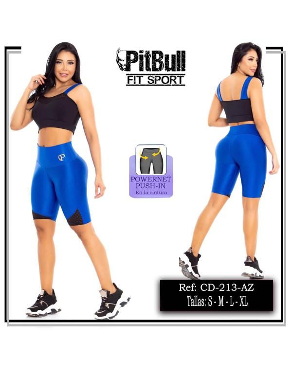 conjunto deportivo pitbull azul cd213